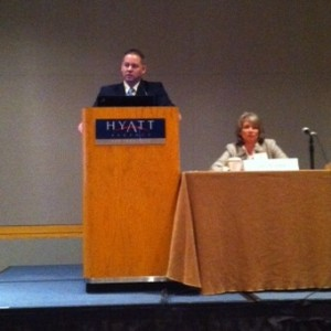 Rob presenting at the 340B program Conference